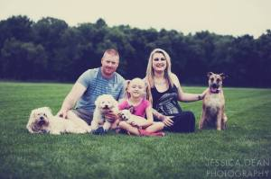 Berhow Family Photo by Jessica Dean Photography